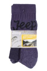 Ladies 3 Pair Jeep Luxury Terrain Socks Packaging Image