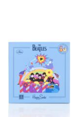 Happy Socks Baby and Kids 4 Pair Beatles 50th Anniversary Yellow Submarine EP Collectors Gift Boxed Socks Packaging Image