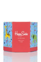 Babies and Kids 4 Pair Happy Socks Cotton Socks In Carousel Gift Box Packaging Image