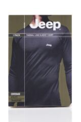 Mens 1 Pack Jeep Long Sleeved Thermal T-Shirt Packaging Image