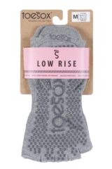 Mens and Ladies 1 Pair ToeSox Half Toe Organic Cotton Low Rise Yoga Socks Packaging Image