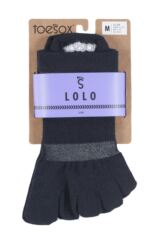 Ladies 1 Pair ToeSox Lolo Sports Socks Product Shot