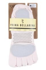 Ladies 1 Pair ToeSox Prima Full Toe Open Foot Dance Ballet Socks Packaging Image