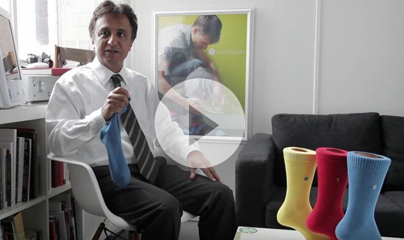 SockShop Colour Burst Cotton Sock for Men at SockShop