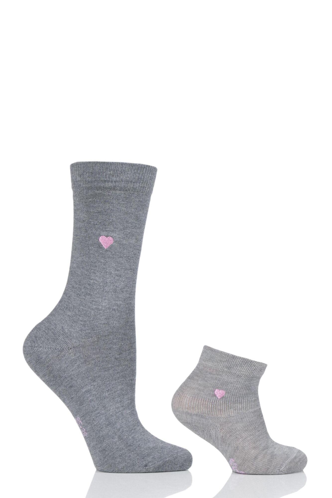 1 Pack Mini Me Set Woand Babies Matching Socks Ladies and Kids - Falke