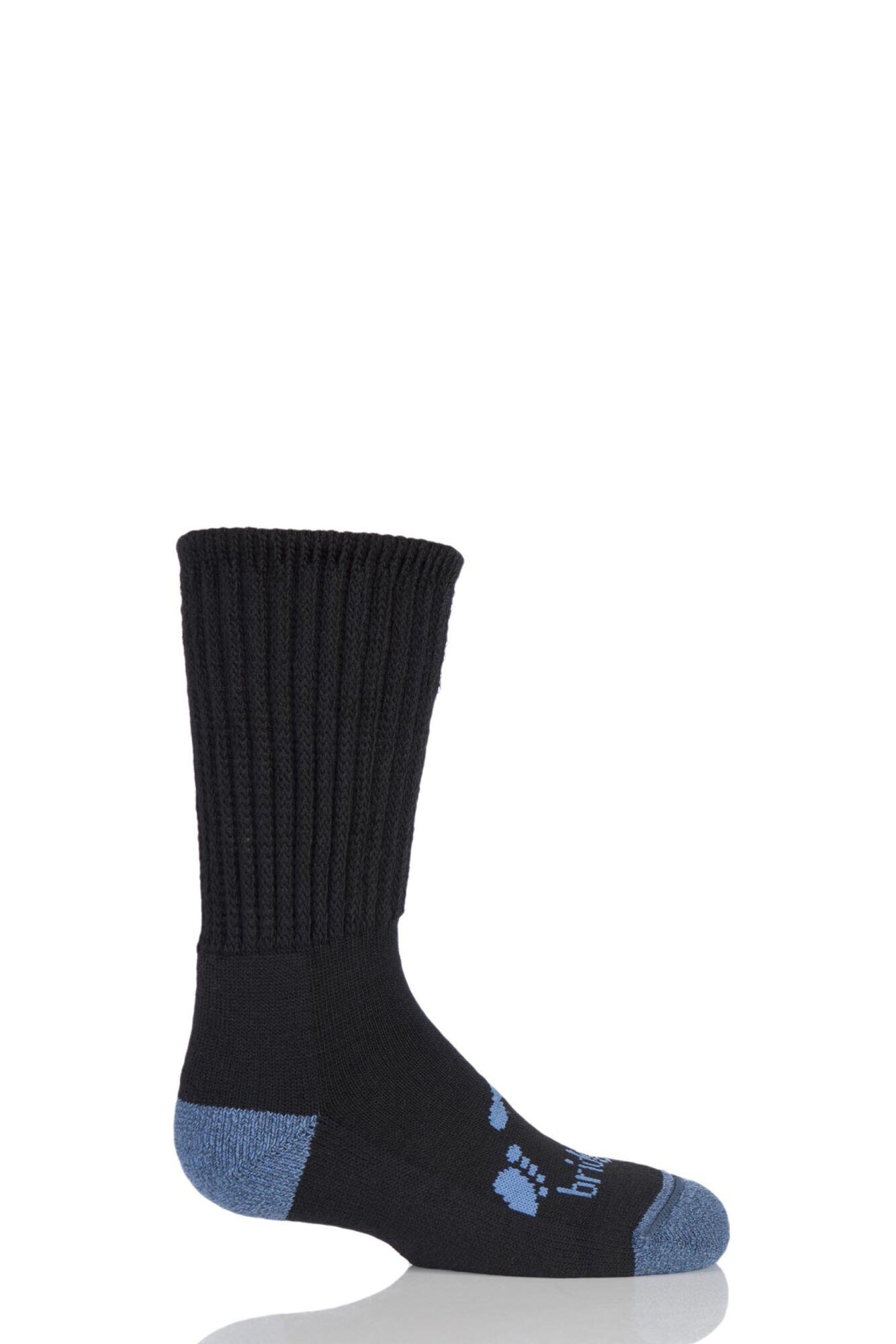 1 Pair Junior Trekker Socks All Day Comfort Kids Unisex - Bridgedale