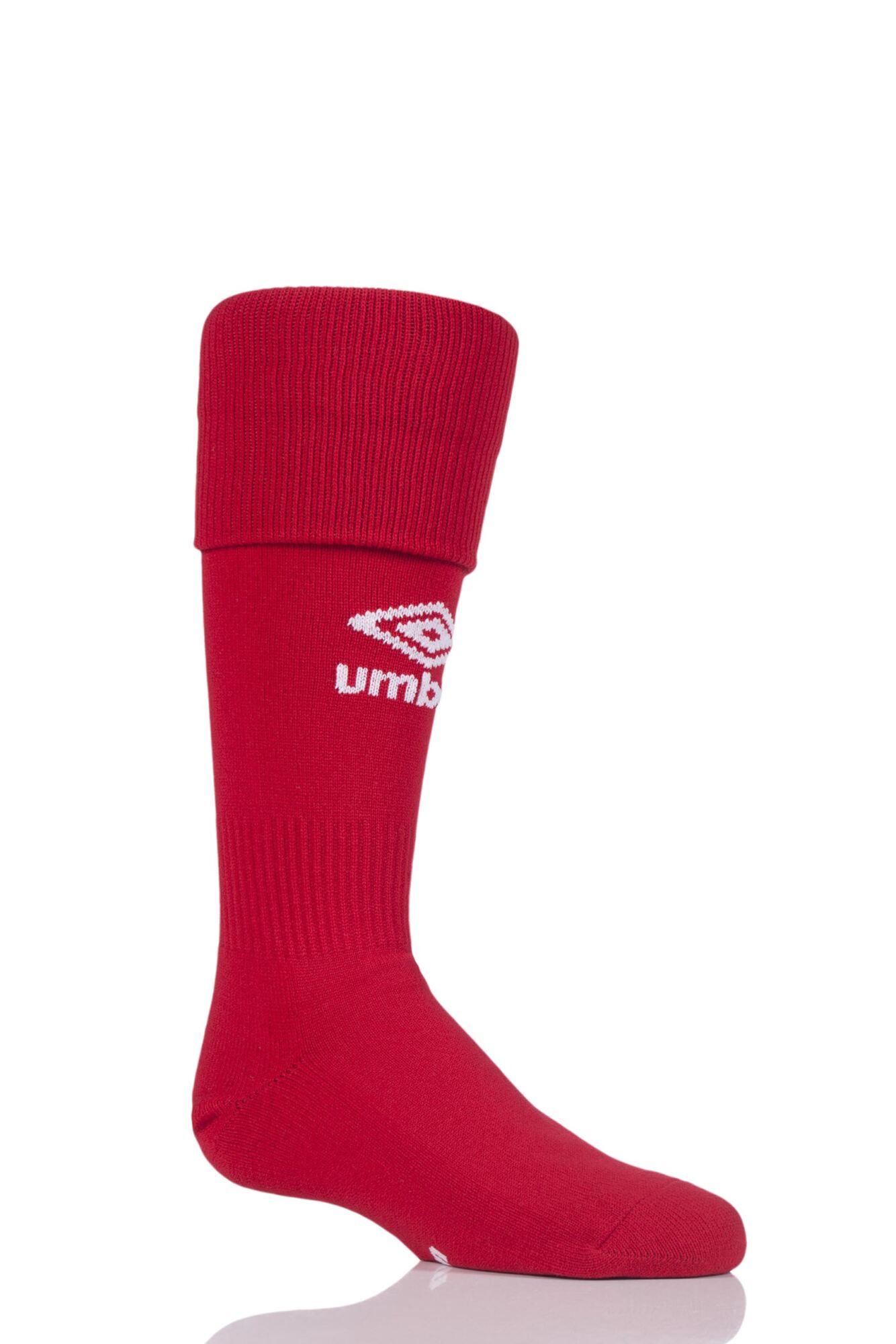 1 Pair League Football Socks Kids Unisex - Umbro