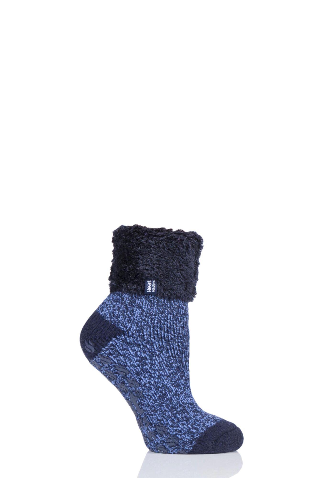 Ladies 1 Pair Heat Holders Annabelle Lounge Socks