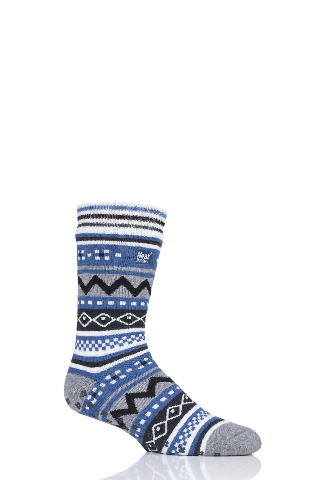 1 Pair Soul Warming Socks Men's - Heat Holders
