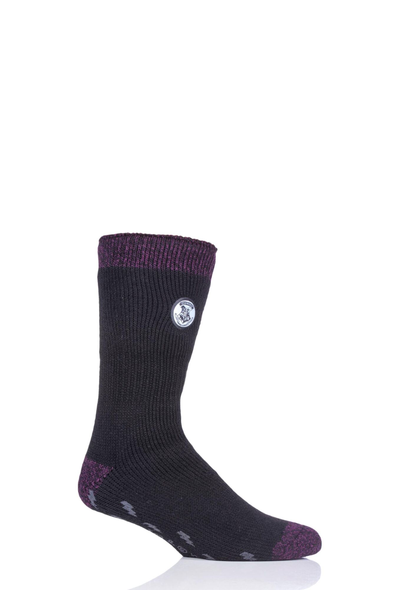 1 Pair Harry Potter Thermal Socks with Grips Men's - Heat Holders
