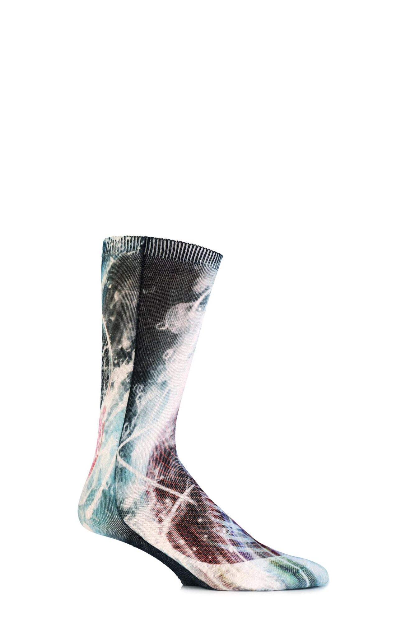 1 Pair HD Printed Socks Men's - Coca Cola
