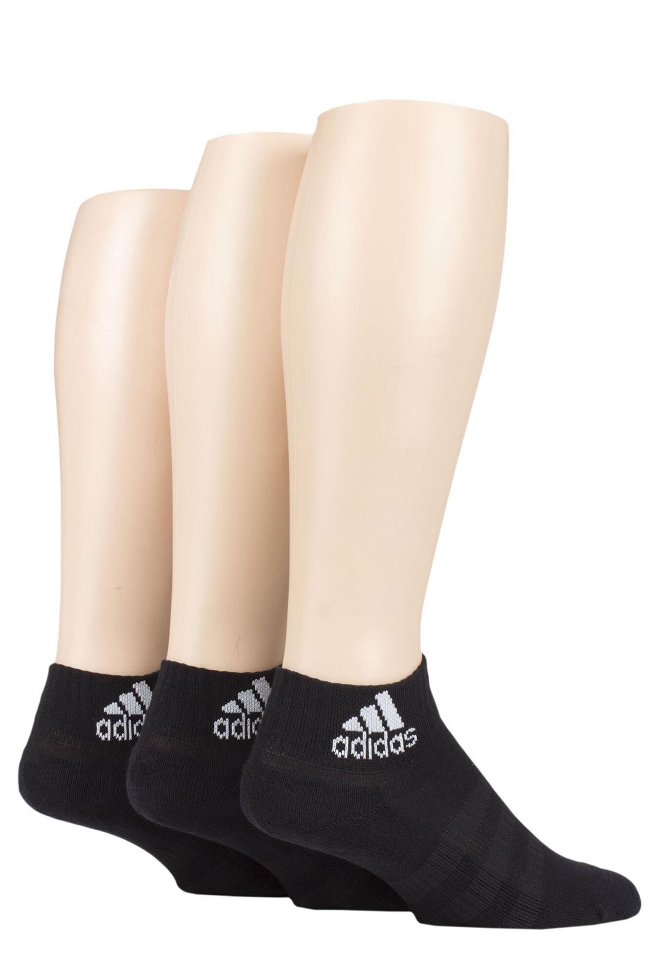 Adidas 3 Pair Cushioned Ankle Socks