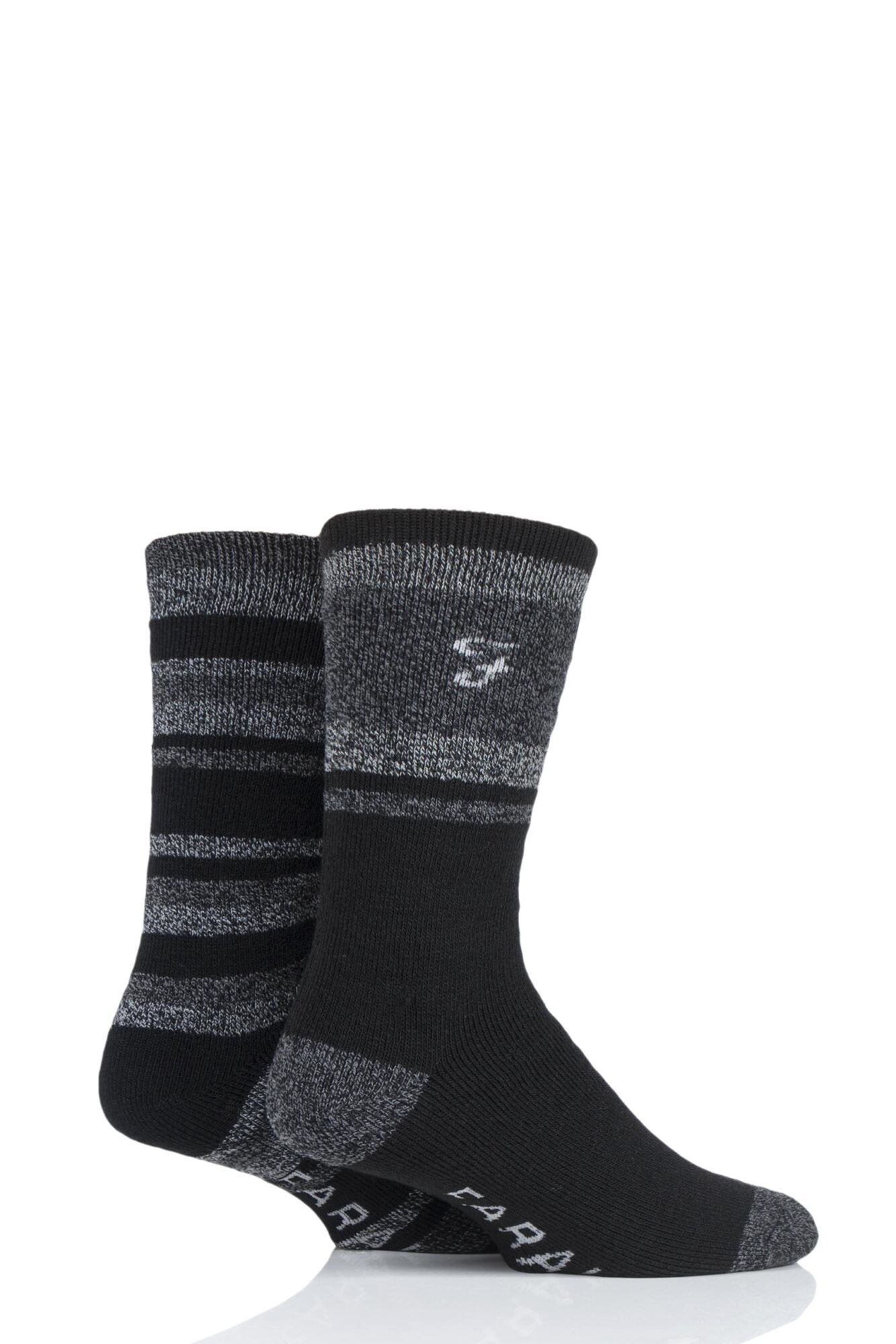 2 Pair Brushed Inner Boot Socks Men's - Farah