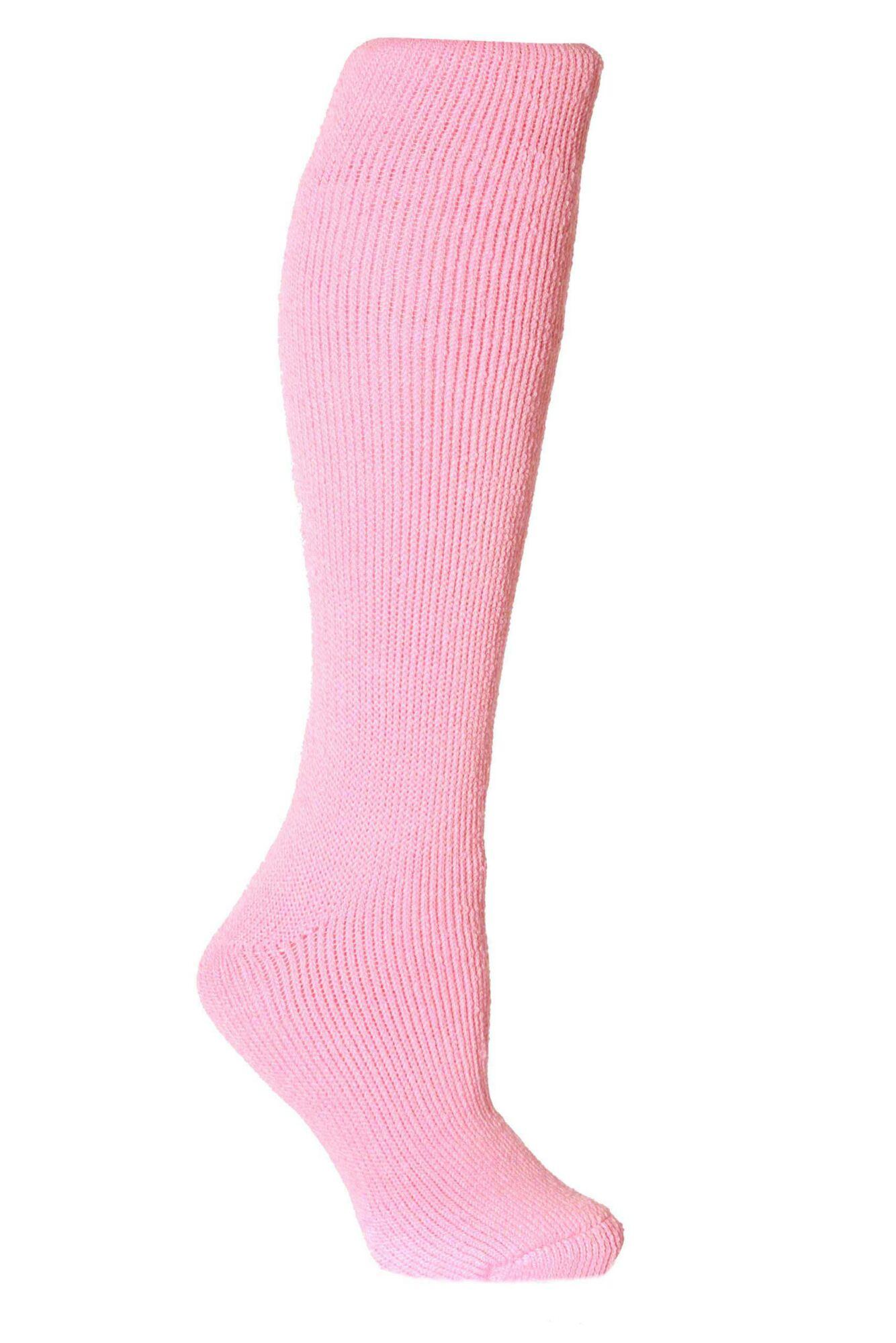 1 Pair Long Thermal Socks Ladies - Heat Holders