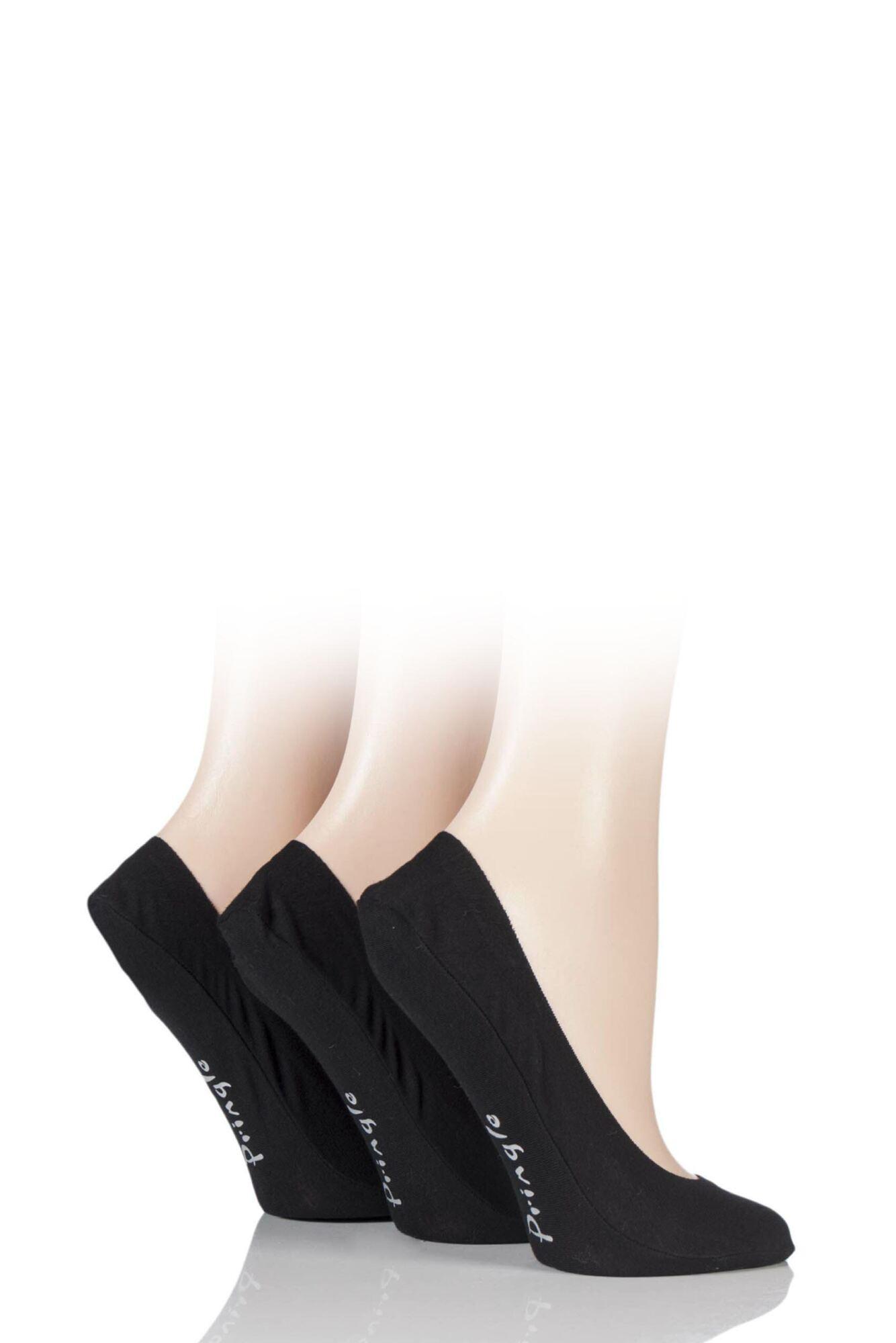 3 Pair Marian Shoe Liners Ladies - Pringle