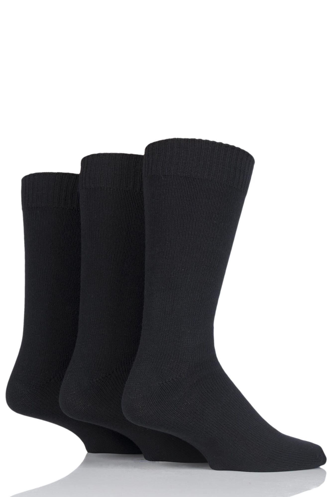3 Pair Cotton Socks Men's - SOCKSHOP