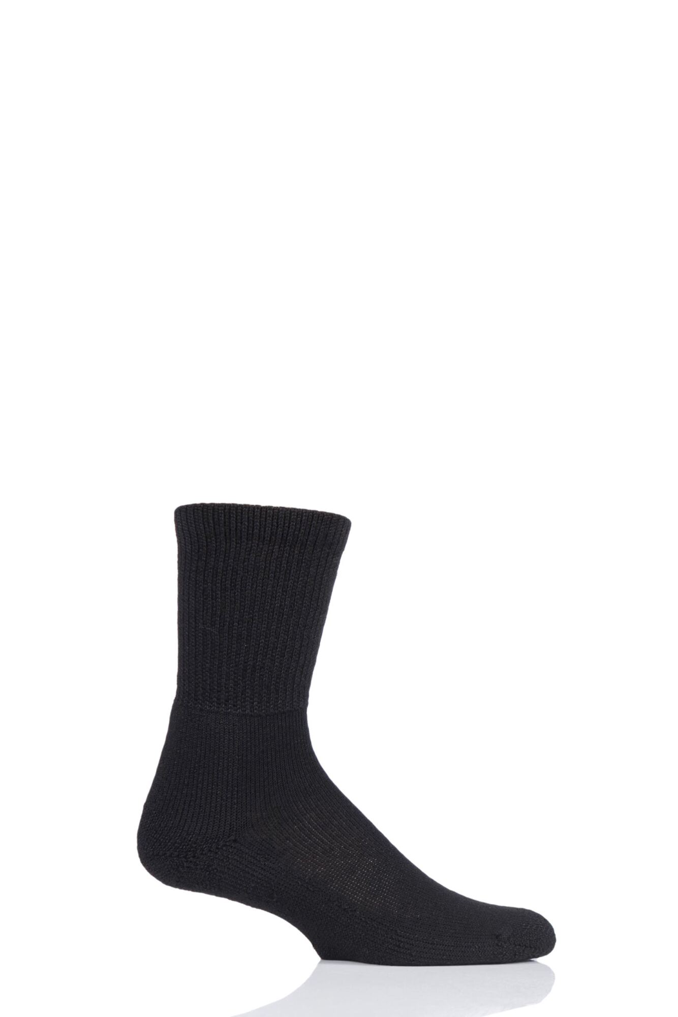 1 Pair Tennis Crew Socks with Thick Cushion Unisex - Thorlos