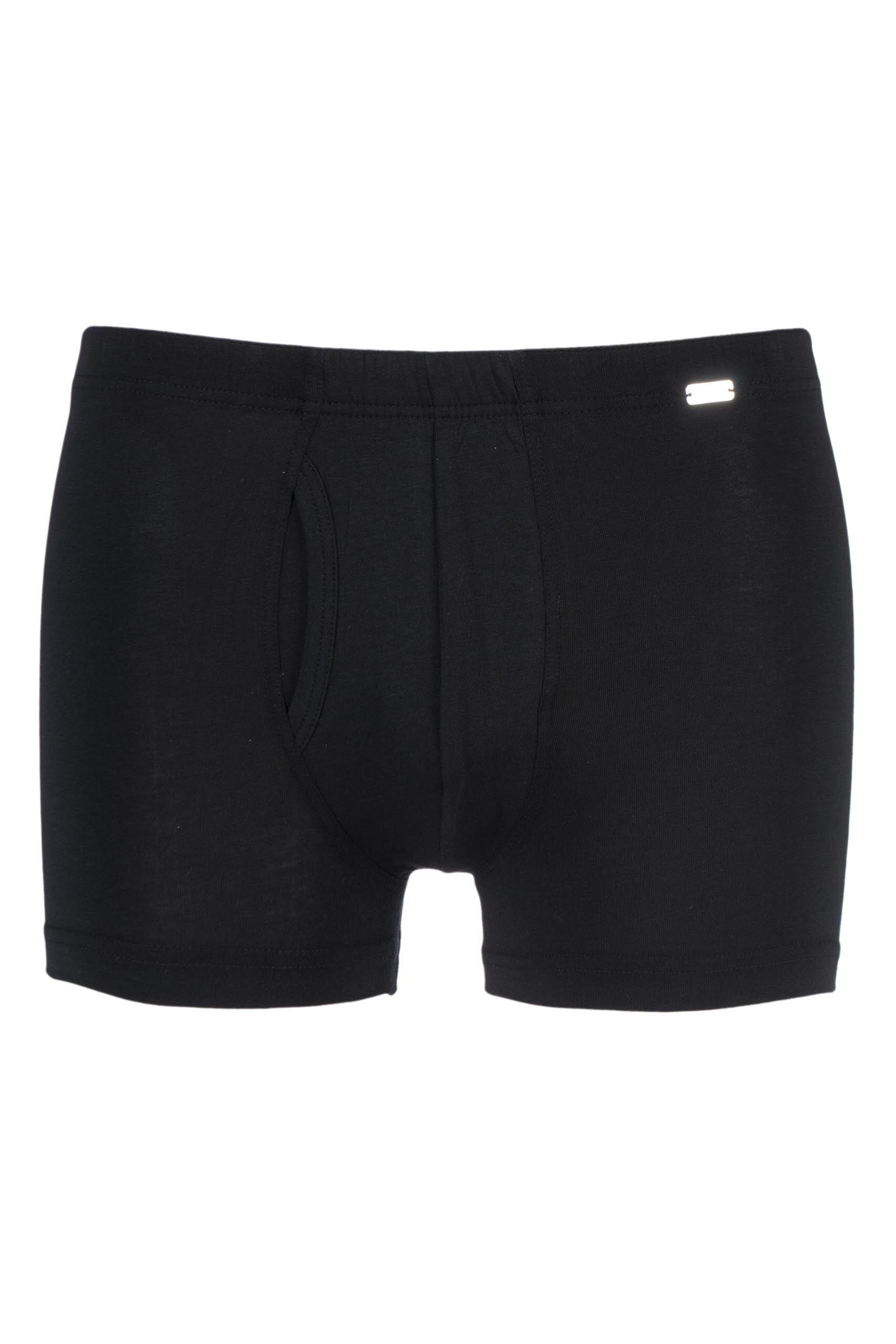 Image of 1 Pack Black Modern Stretch Comfort Trunks Men's Extra Large - Jockey