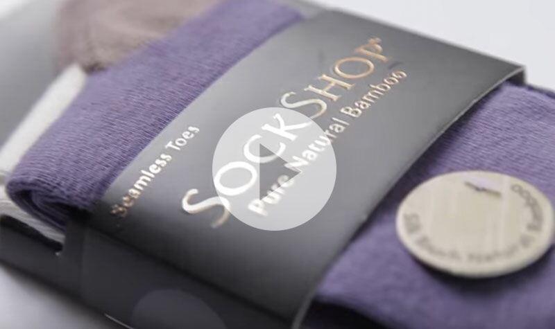 Ladies SockShop Plain Bamboo Socks at SockShop