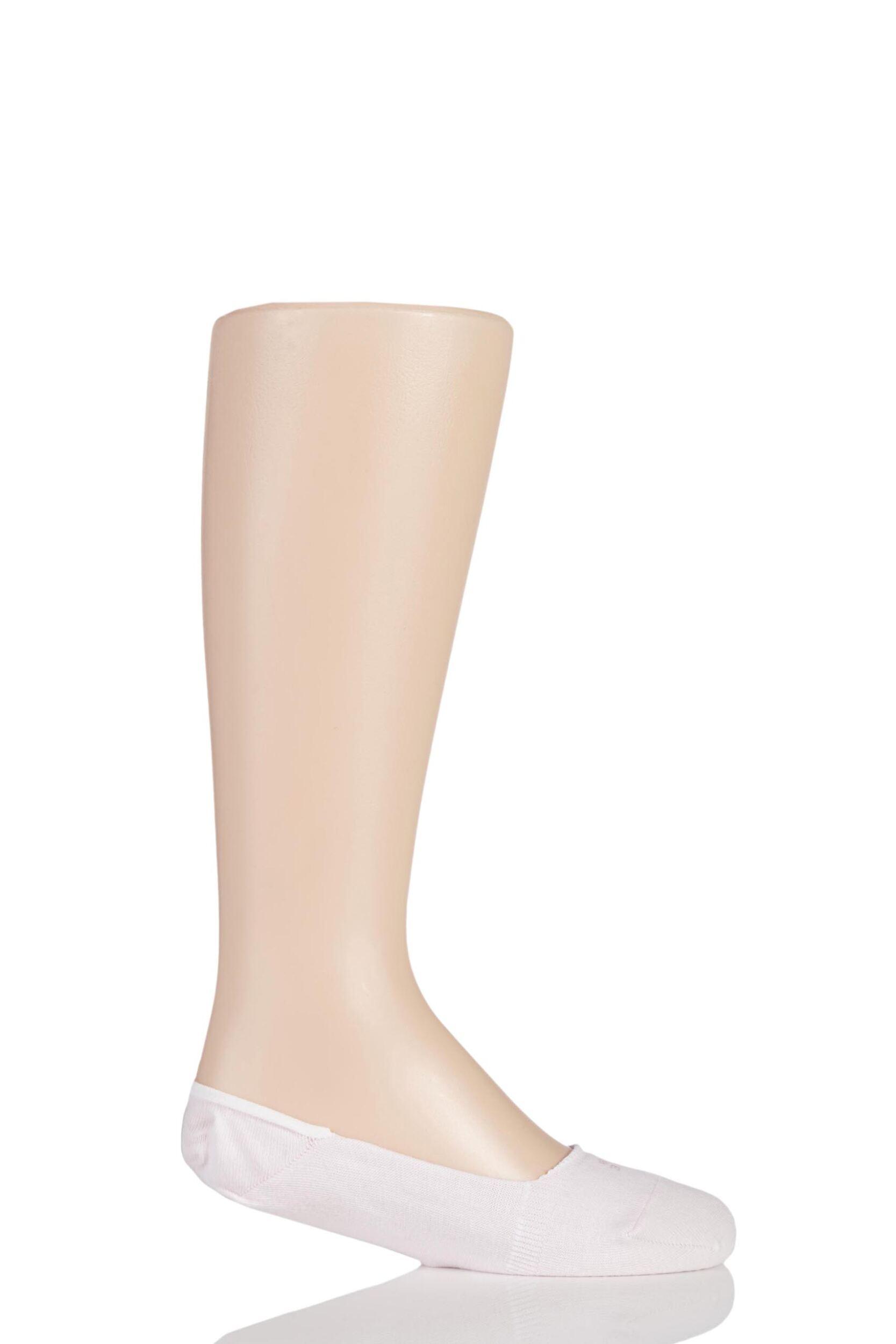 1 Pair Powder Rose Invisible Step Shoe Liners Kids Unisex 3-5 Teens (12-13 Years) - Falke