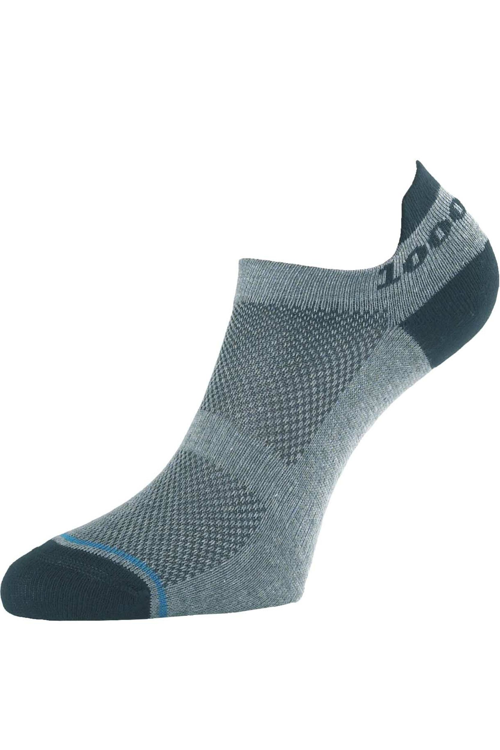Image of Mens 1 Pair 1000 Mile 'Tactel' Ultimate Technical Racing Trainer Socklet