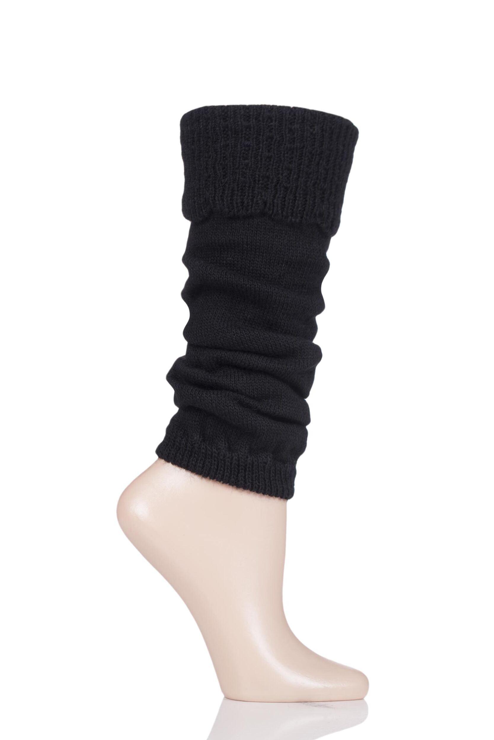 Image of Ladies 1 Pair Falke Rural Wool Leg Warmers