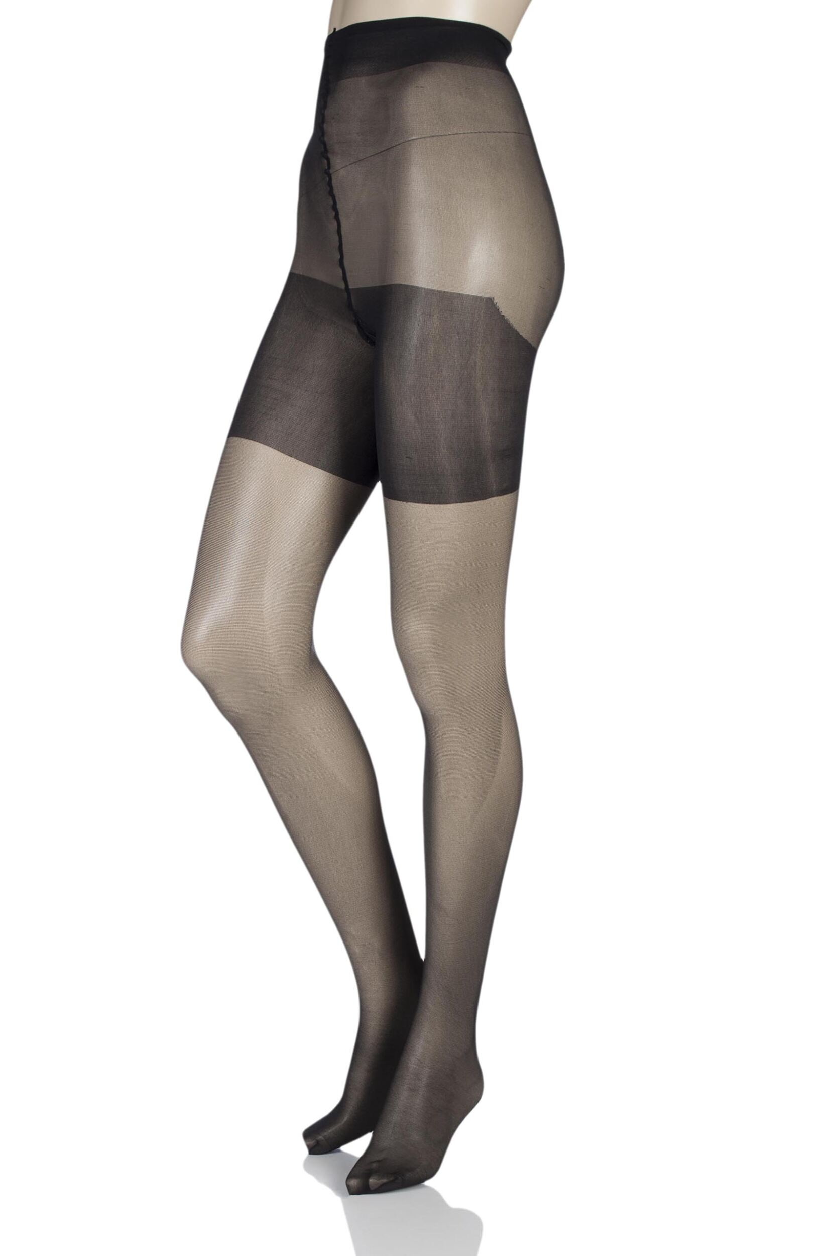 1 Pair Charnos Xelence 15 Denier Sheer Tights