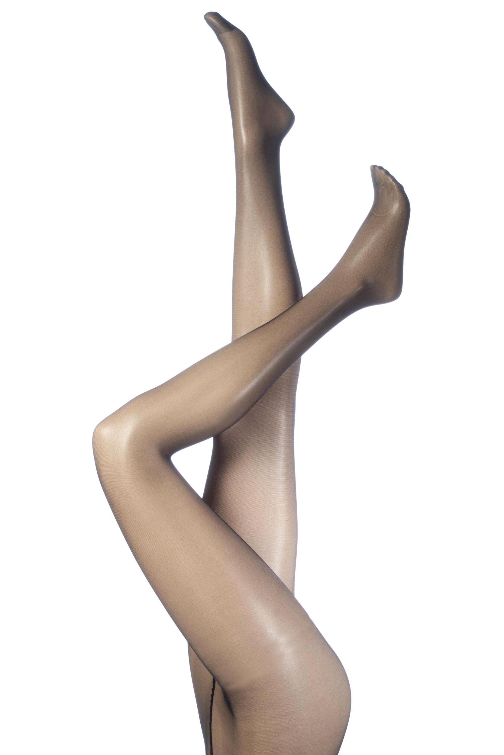 Ladies 1 Pair SockShop 15 Denier Invisible Slimming Tights