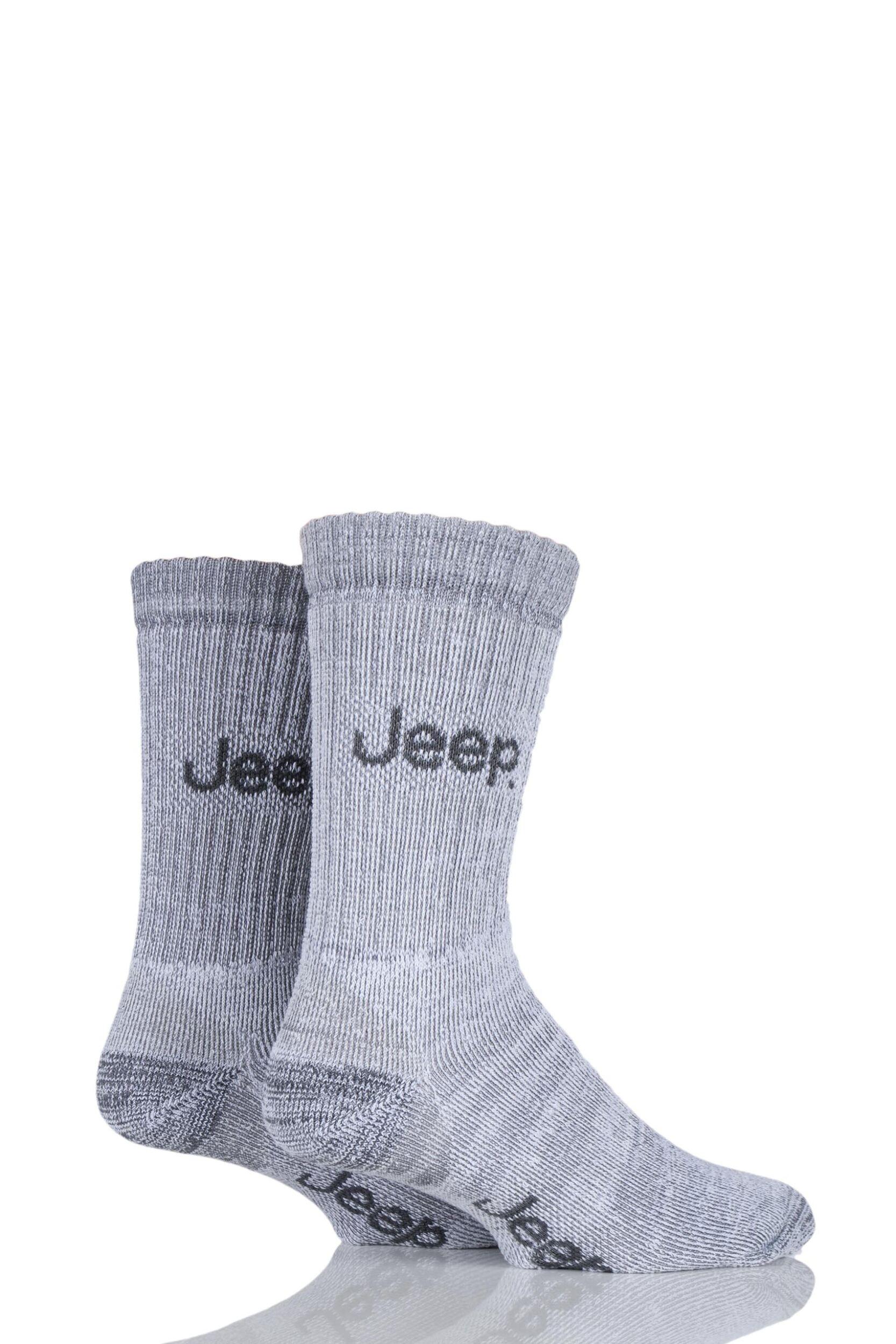 Para-Hombre-2-par-Jeep-peso-mediano-Thermo-Calcetines-terreno-fresco