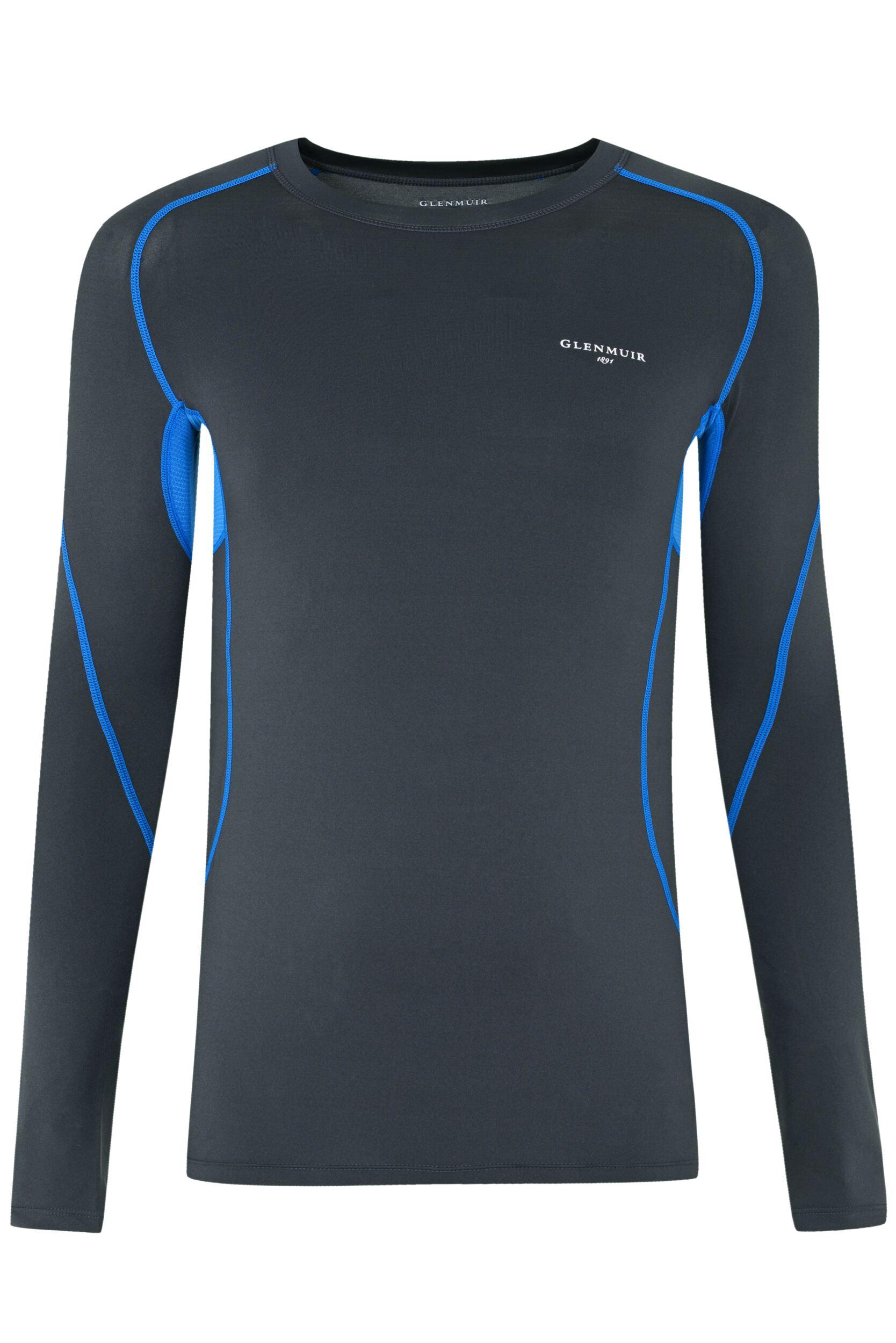 Image of Mens 1 Pack Glenmuir Long Sleeved Compression Base Layer T-Shirt