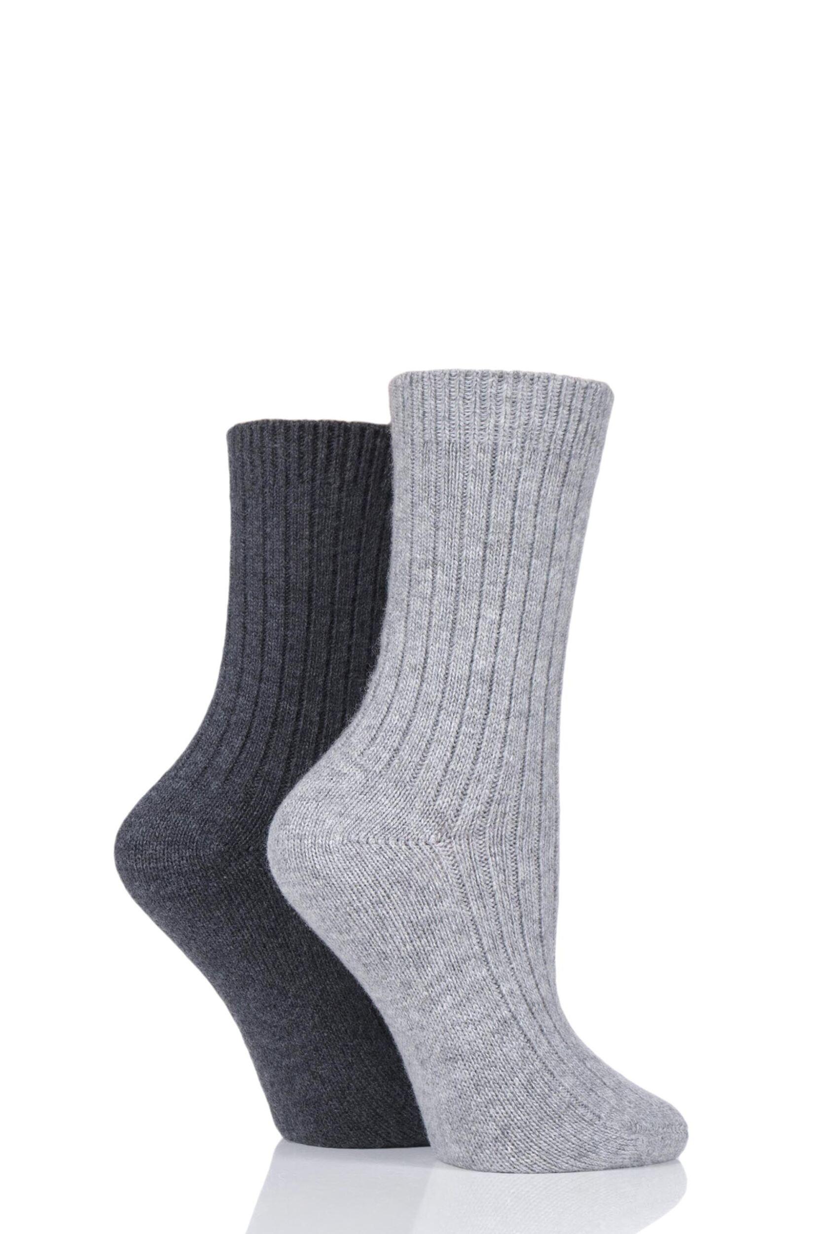 12 pairs Ladies SockShop Cotton Gentle Grip 4-8 uk Socks see variations