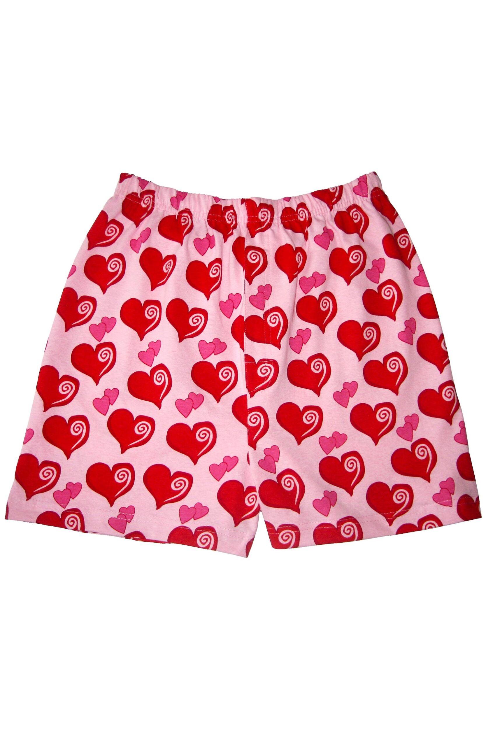 Mens 1 Pair Magic Boxer Shorts In Heart Pattern