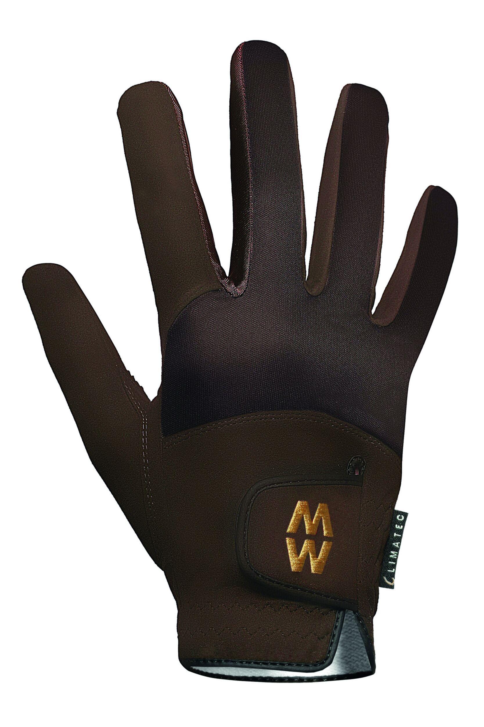 Mens /& Ladies 1 Pair MacWet Short Climatec Sports Gloves