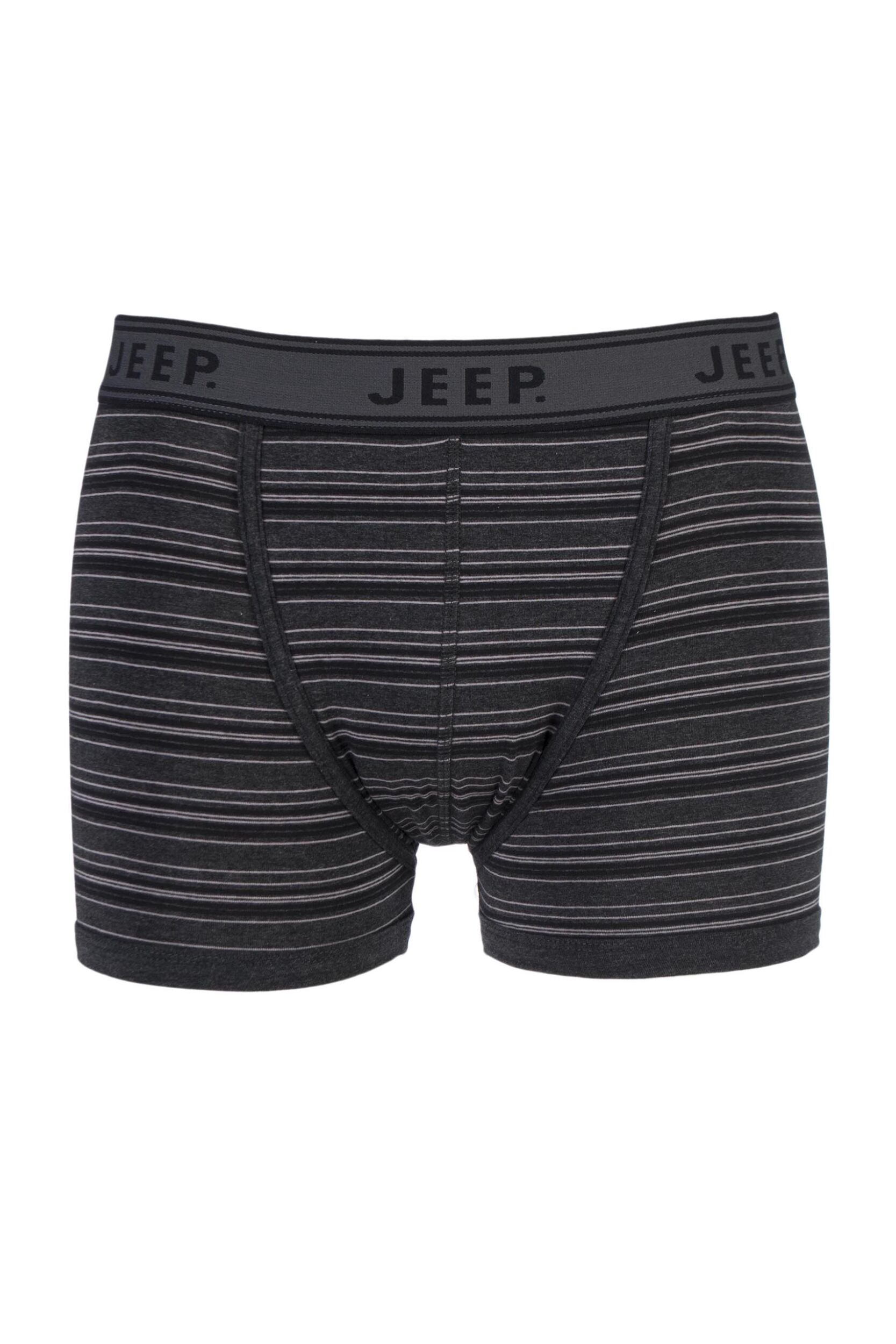 Mens 1 Pair Jeep Spirit Cotton Pin Stripe Trunks