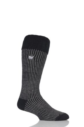 89fe6ba4d73 Mens 1 Pair SockShop Heat Holders 2.3 TOG Thermal Boot Socks From ...