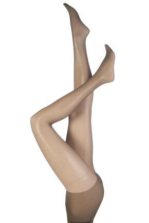 88920e1d78d Pretty Polly Naturals 8 Denier Sandal Toe Tights