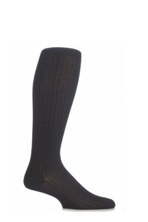 15226b68a42b2 Mens 1 Pair Pantherella Merino Wool Rib Knee High Socks
