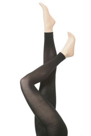 c6548138b Ladies Falke Cotton Touch Footless Tights from SockShop