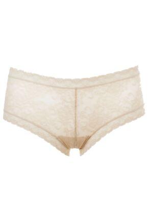 f62740f2b0b4 Kinky Knickers Ivory Straight Lace Trim Knickers