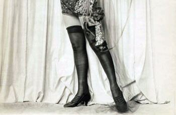 History of tights: the roaring 20s