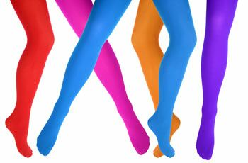5 signs coloured tights are back this spring