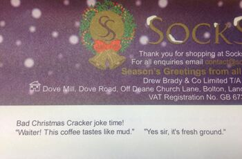 That's a cracker!"