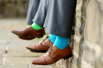Colourful socks named 'gentleman's accessory'