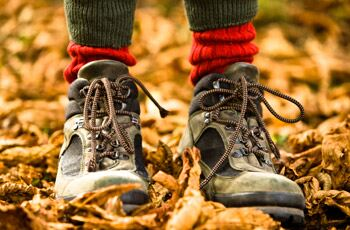 Choosing the right footwear for a good walk