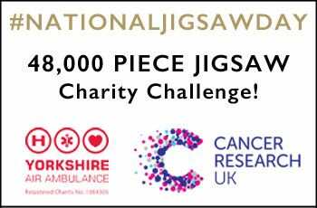 #NationalJigsawDay - 48,000 Piece Jigsaw Challenge