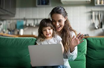 How to stay connected with your loved ones from home