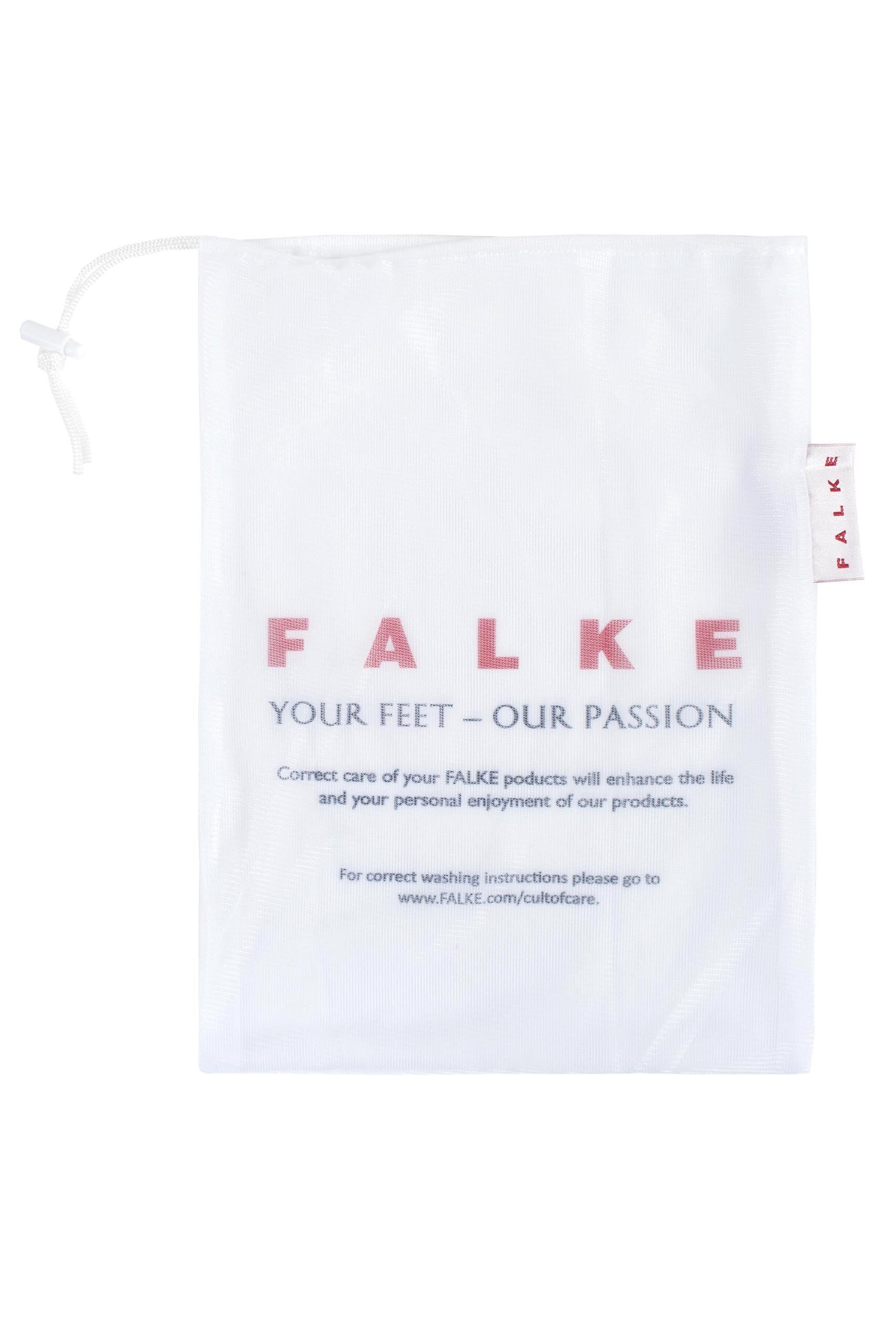 Image of 1 Pack White Hosiery Washing Bag Ladies One Size - Falke