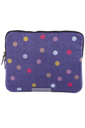 Ladies Bewitched Spots, Spots, Spots Polka Dot Design iPad Case 75% OFF Aubergine