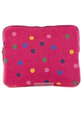 Ladies Bewitched Spots, Spots, Spots Polka Dot Design iPad Case 75% OFF Fuchsia