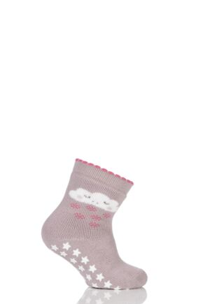 Babies 1 Pair Falke Sleepy Cloud Catspads